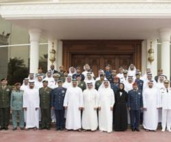Abu Dhabi Crown Prince Receives IDEX Committee