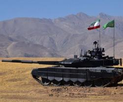 Iran Unveils Advanced Battle Tank