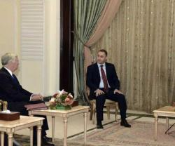 Iraqi President Receives British Defense Secretary