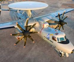 NGC Begins Work on 2nd Japanese E-2D Advanced Hawkeye