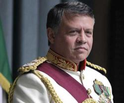 Jordanian King Receives British Chief of Staff