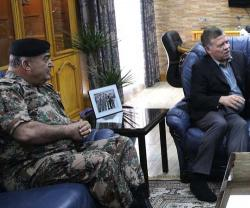 Jordanian King Visits Royal Air Force Command