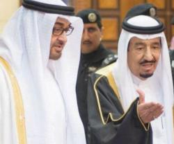 Saudi King, UAE Crown Prince Hold Talks