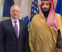 Saudi Deputy Crown Prince Meets US Defense Secretary