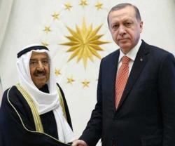 Kuwait's Emir Visits Turkey