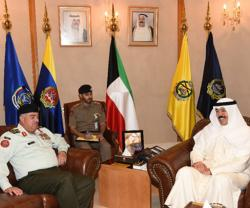 Kuwait Defense Minister Meets Jordanian Chief-of-Staff