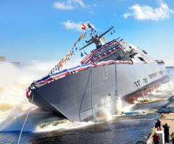 Lockheed Martin-Led Team Launches Future USS WICHITA