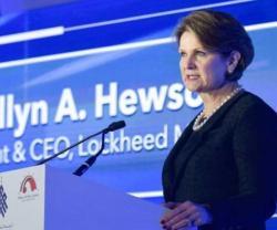 Lockheed Martin CEO Addresses GSWS in Abu Dhabi
