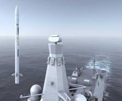 MBDA Wins UK Contract for Sea Ceptor Air Defense System