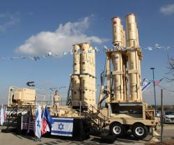 Israeli Air Force Receives Arrow-3 Interceptors