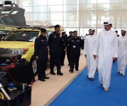 Qatar's Emir Visits Milipol Qatar