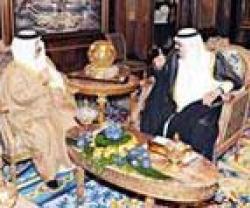Saudi-Bahraini Kings Discuss Regional Security