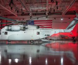 Sikorsky Unveils CH-53K Heavy Lift Helicopter