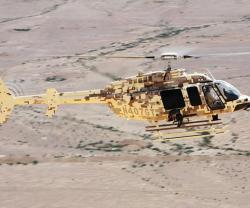 Bell Helicopter Demos Huey II, Bell 407GT in the Middle East