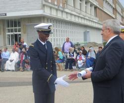 Naval Officers' Diplomas Awarded to Kuwaiti, Libyan Cadets