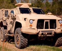 Oshkosh L-ATV Completes 200,000 Miles for JLTV Testing