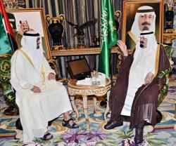 Saudi King, Abu Dhabi Crown Prince Discuss Gaza Crisis