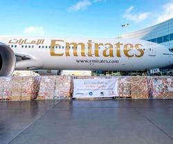 Boeing, Emirates to Transport Humanitarian Aid to Iraq