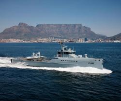 Damen Builds 2 FCS 5009 Patrol Vessels in South Africa