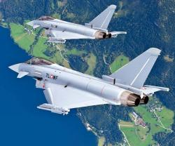 Eurofighter Typhoons Secure Airspace During World Economic Forum 2015