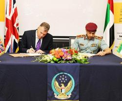 Abu Dhabi Police, New Scotland Yard Sign Agreement