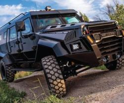 INKAS Armored Launches New APC - The INKAS Sentry