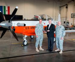 Beechcraft Delivers Four T-6 Training Aircraft to US Army