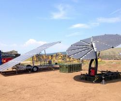 REMULES Carbon-Fiber Solar System at NATO Camp