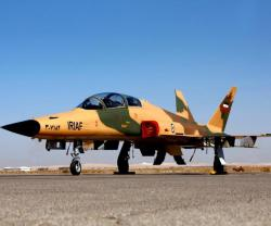 Iranian Air Force Equipped with Saeqeh 2 Fighter Jets