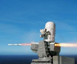 US Navy Test Fires First Raytheon SeaRAM Missile