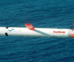 Raytheon Demos Network-Enabled Tomahawk in Flight
