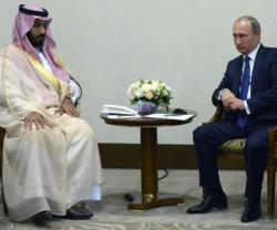 Putin Receives Saudi Defense Minister, UAE Crown Prince