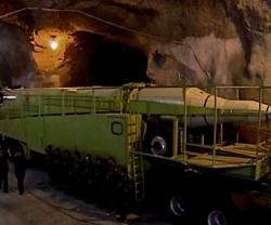 Iran Unveils Massive Underground Missile Base