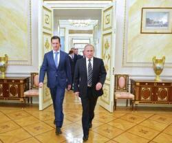 Syrian President Meets Russian Counterpart in Moscow