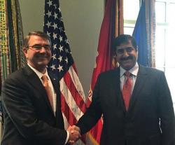 Qatar Defense Minister Meets US Counterpart, DSCA Director