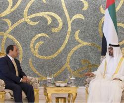 Abu Dhabi Crown Prince Receives Egyptian President