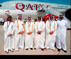 Qatar Airways Concludes Successful Week at Dubai Airshow