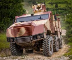 "Nexter Presents TITUS® in ""Internal Security"" Configuration at MILIPOL 2015"