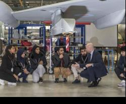 18 Omani Students Visit BAE Systems