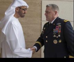 Crown Prince of Abu Dhabi Receives US Chief of Staff