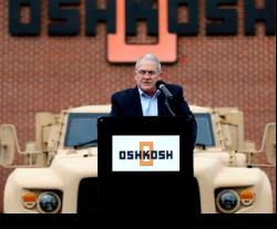 President of Oshkosh Defense to Retire in February