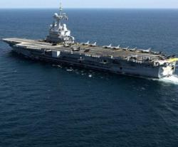 US Resupplies Charles De Gaulle and 3 Other French Warships in Bahrain