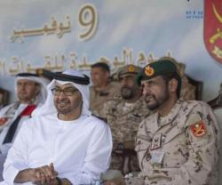 Mohamed bin Zayed Attends UAE Land Forces' 26th Unification Ceremony