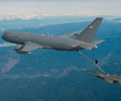 Boeing, U.S. Air Force Complete KC-46A Tanker's First Refueling Flight
