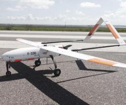 UMS SKELDAR Demos F-330 Fixed Wing at UMEX 2016