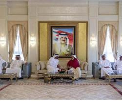 Bahrain's King Receives Abu Dhabi Crown Prince