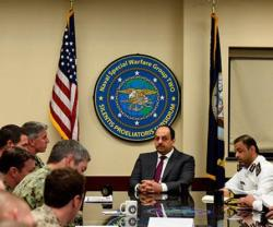 Qatar's Defense Minister Tours Medical & Naval Sites in the US