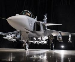 Saab Unveils Gripen E Next Generation Fighter