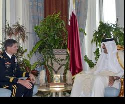 Qatar's Emir, Defense Minister Meet Director of US Missile Defense Agency
