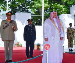 Qatar's Minister of State for Defense Affairs Visits Pakistan